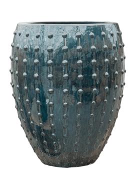 Blumentopf blau Portofino