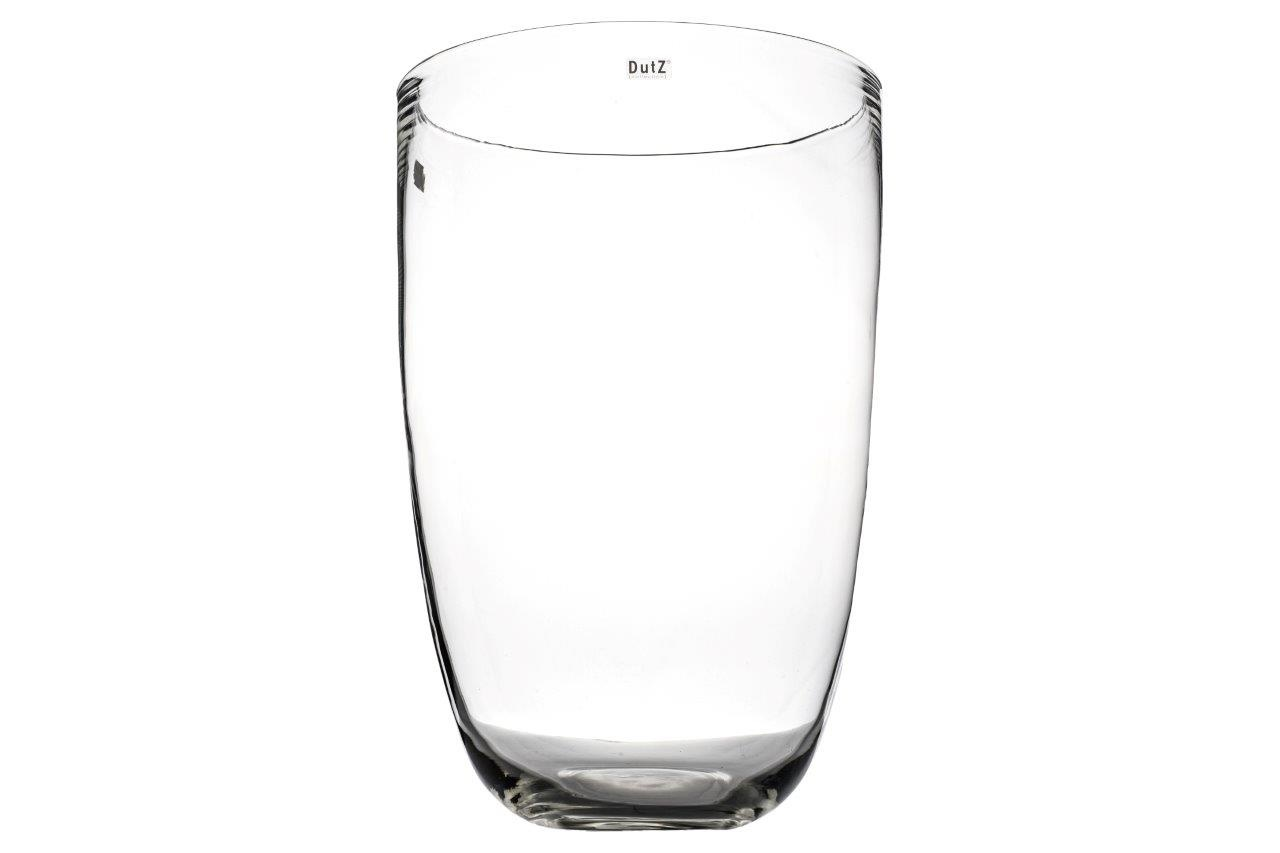 DutZ Glass vase Anton clear - H55 cm