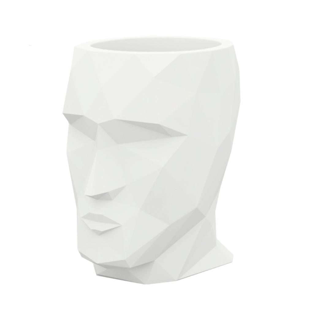 Bloempot hoofd Adam - H42 cm