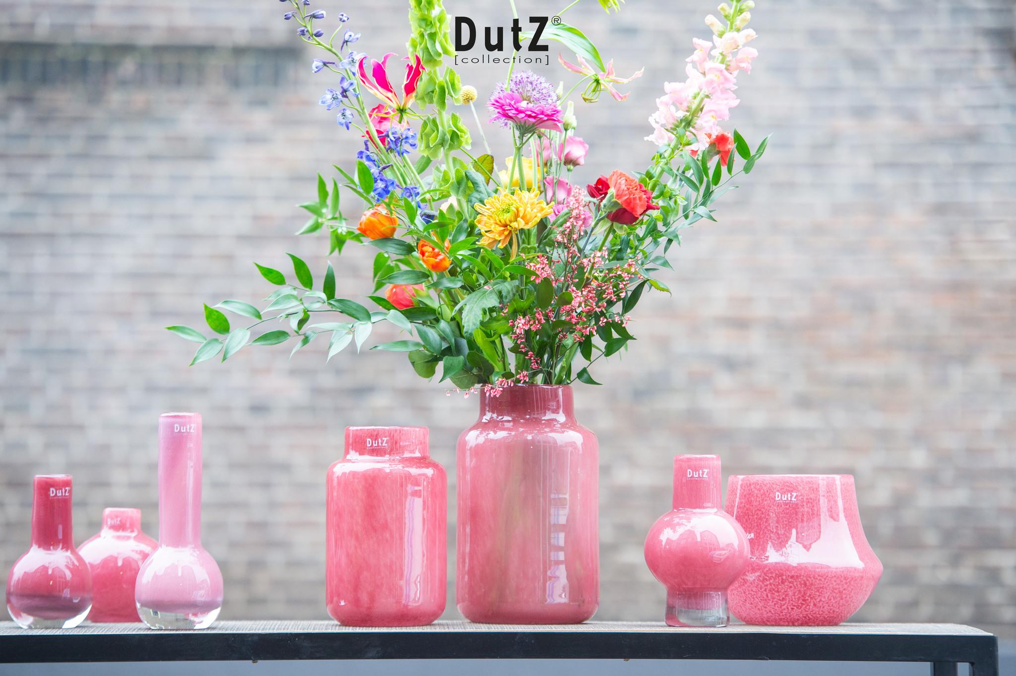DutZ Vase Nova cranberry - H25/ H30 cm
