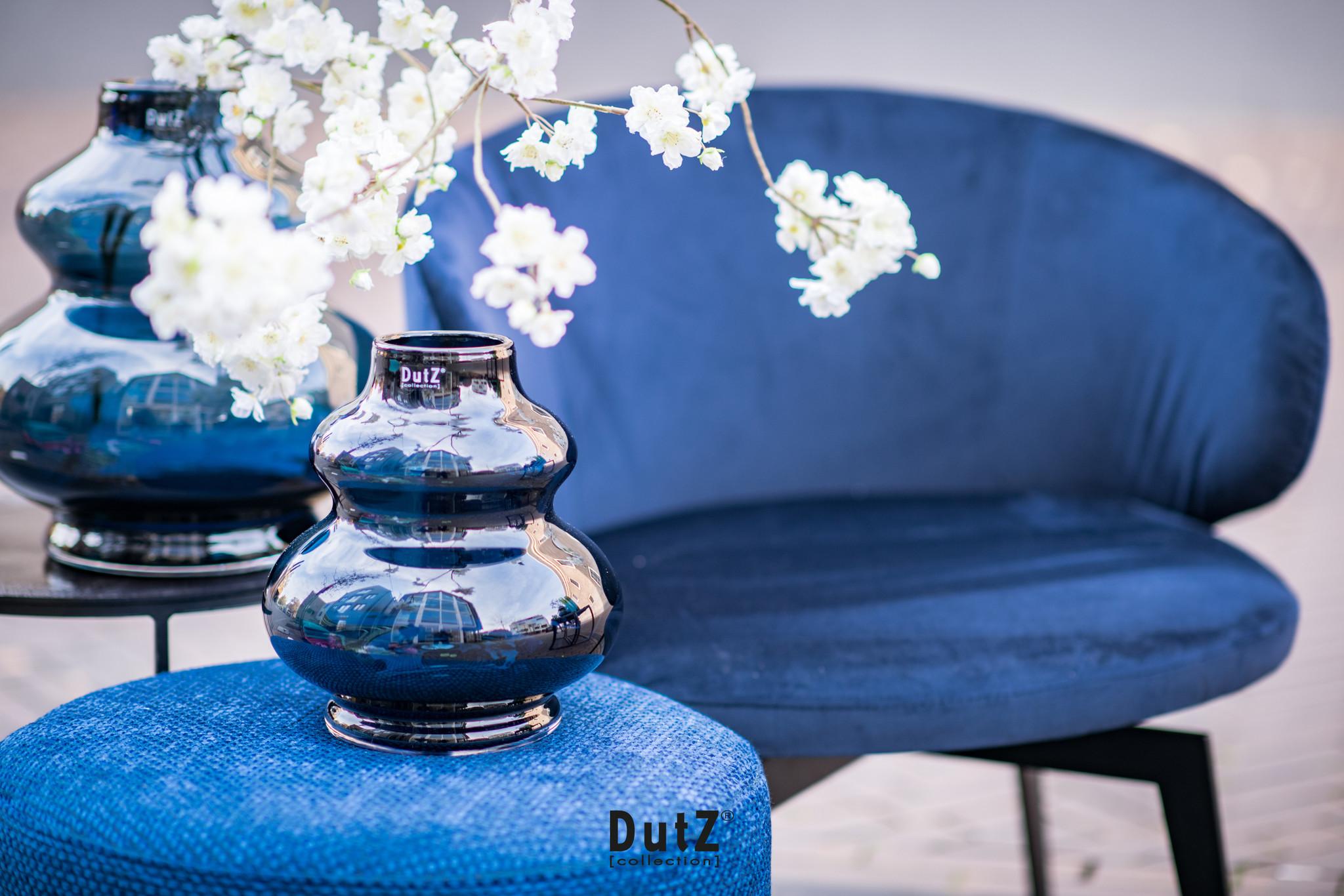 DutZ Vase Skrzyszow nightblue - H25/ H35 cm