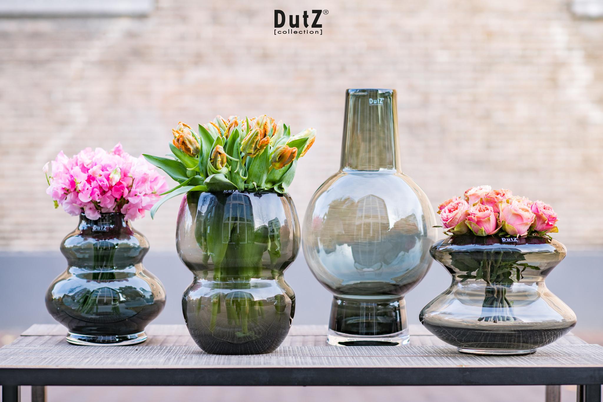 DutZ Vase Doru smoke - H20 cm