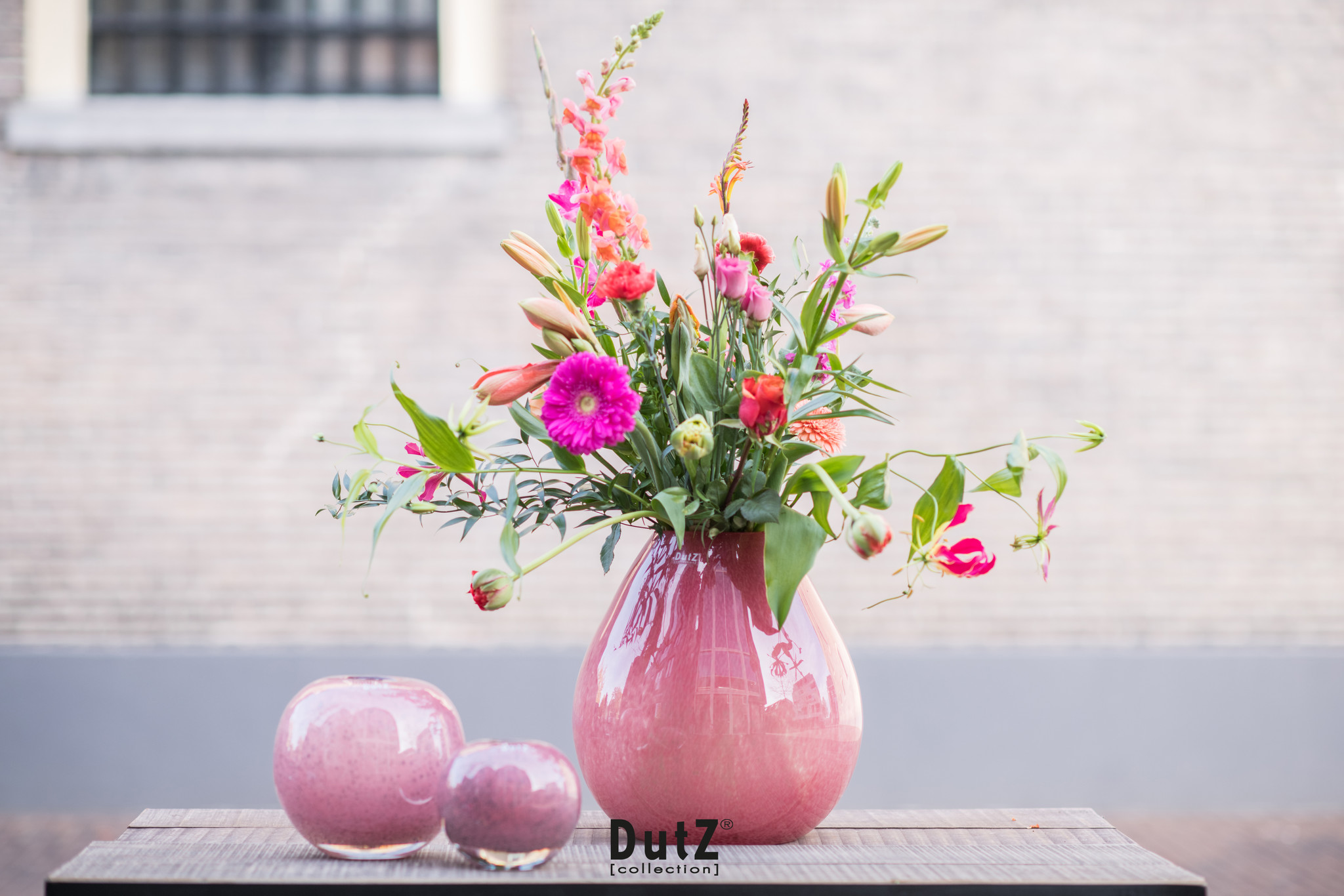 DutZ Ball bubble cranberry - D13 / D20 cm