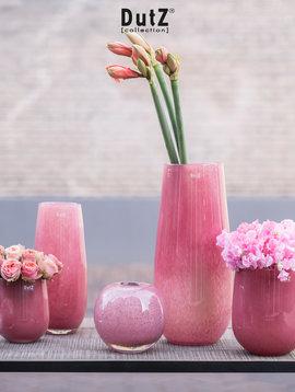 DutZ Vase Robert cranberry