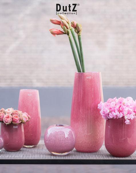 DutZ Vase Robert cranberry - H37 / H50 cm