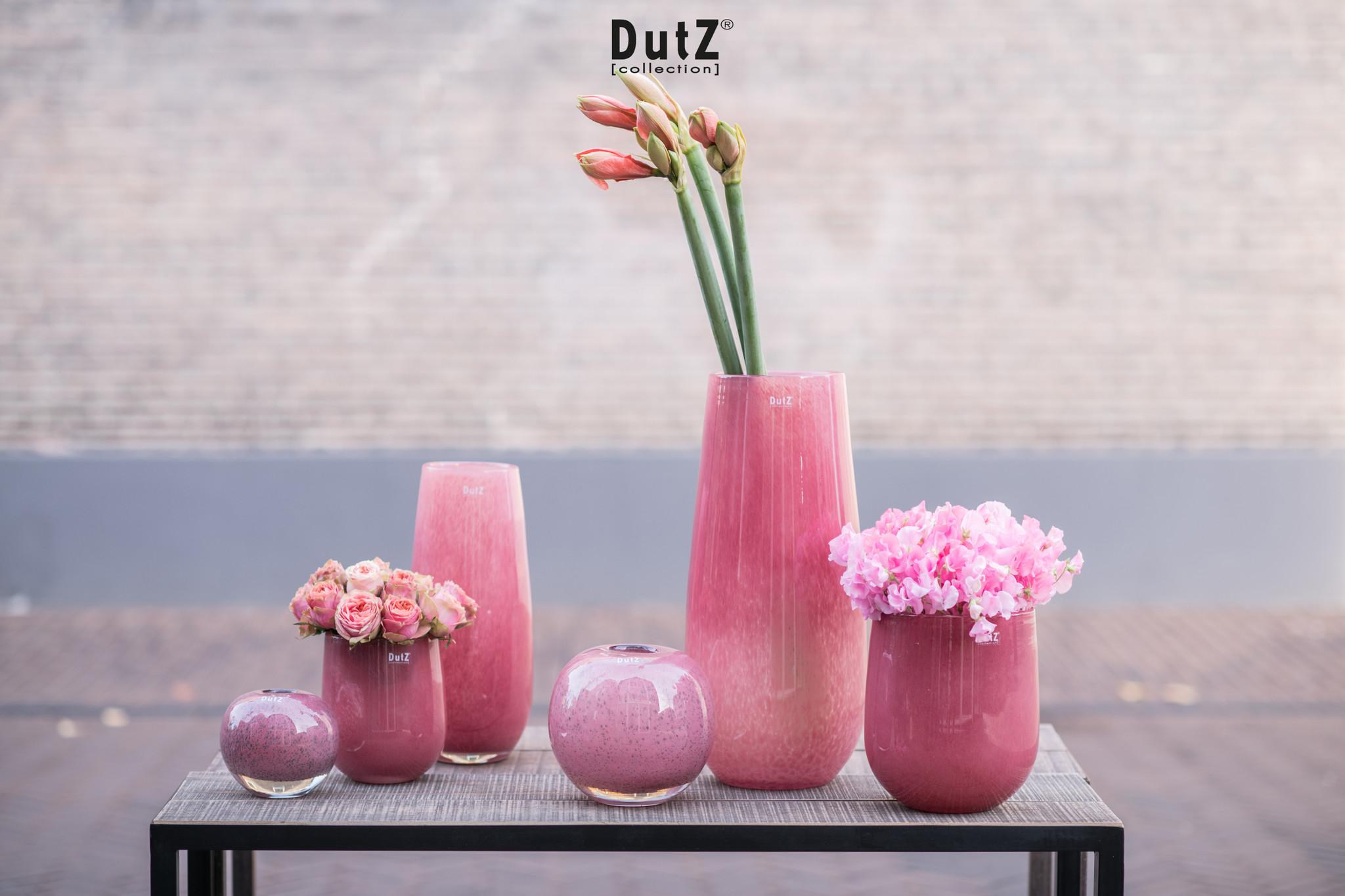 DutZ Vaas Robert cranberry - H37 / H50 cm