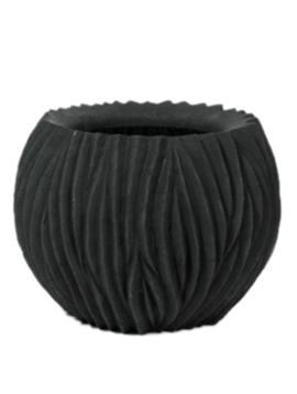 Pflanzkübel schwarz Arran