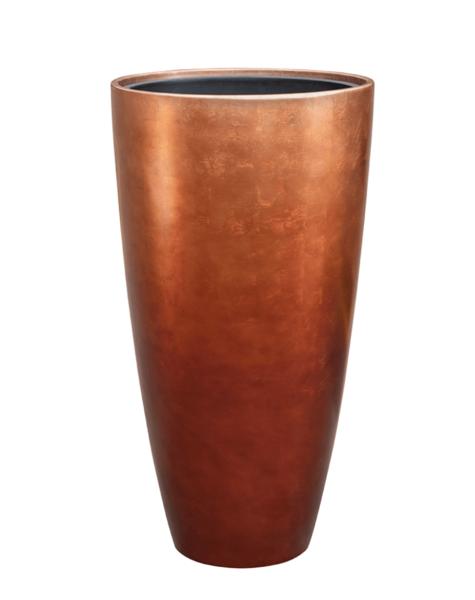 Bloempotten koper Falun - H90 cm