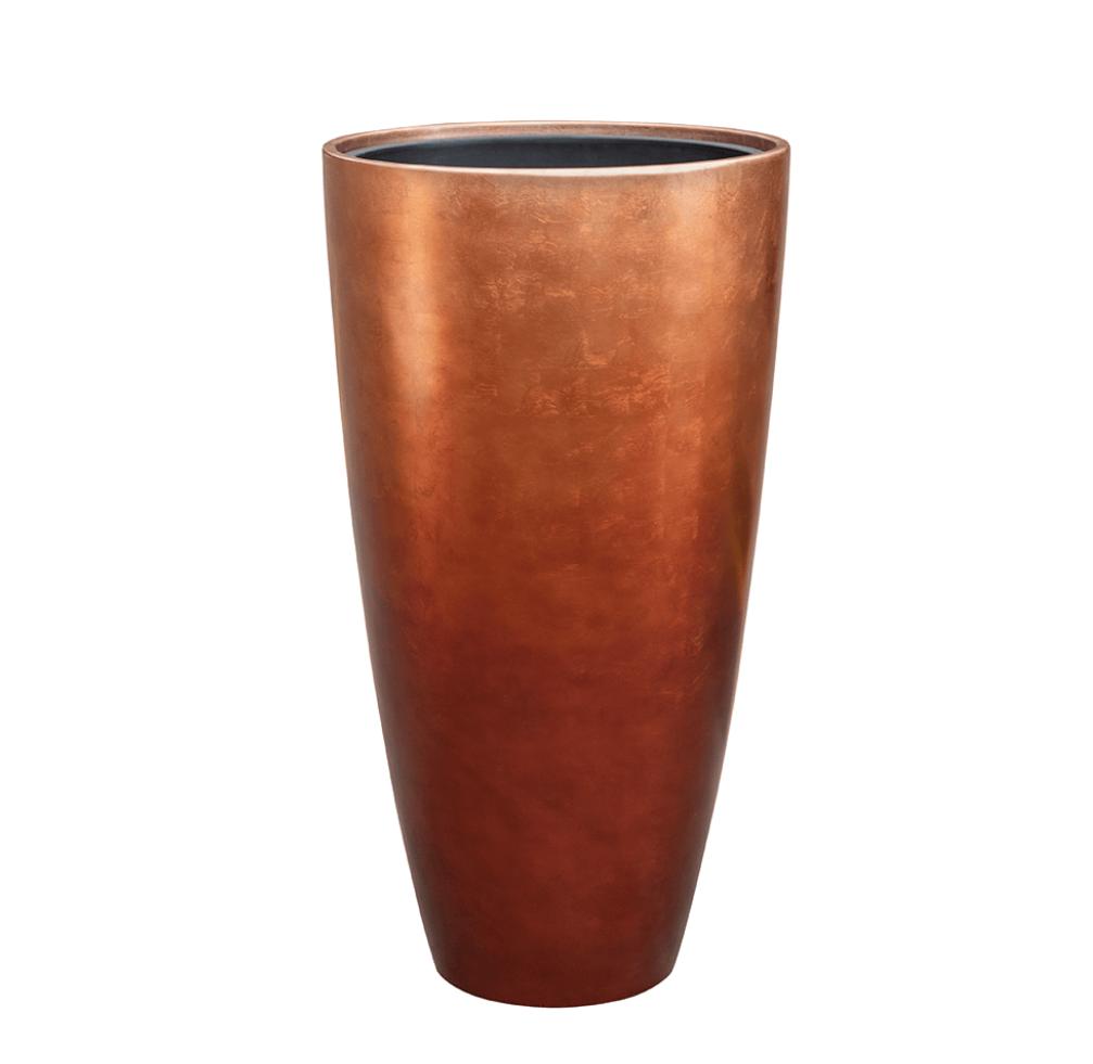 Copper planter Falun - H90 cm