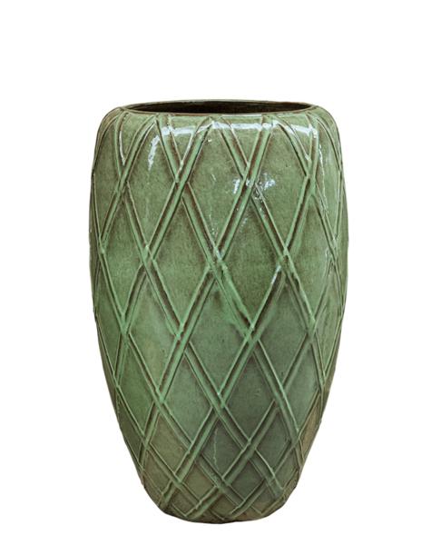 Bloempotten groen Patricius - H81 cm