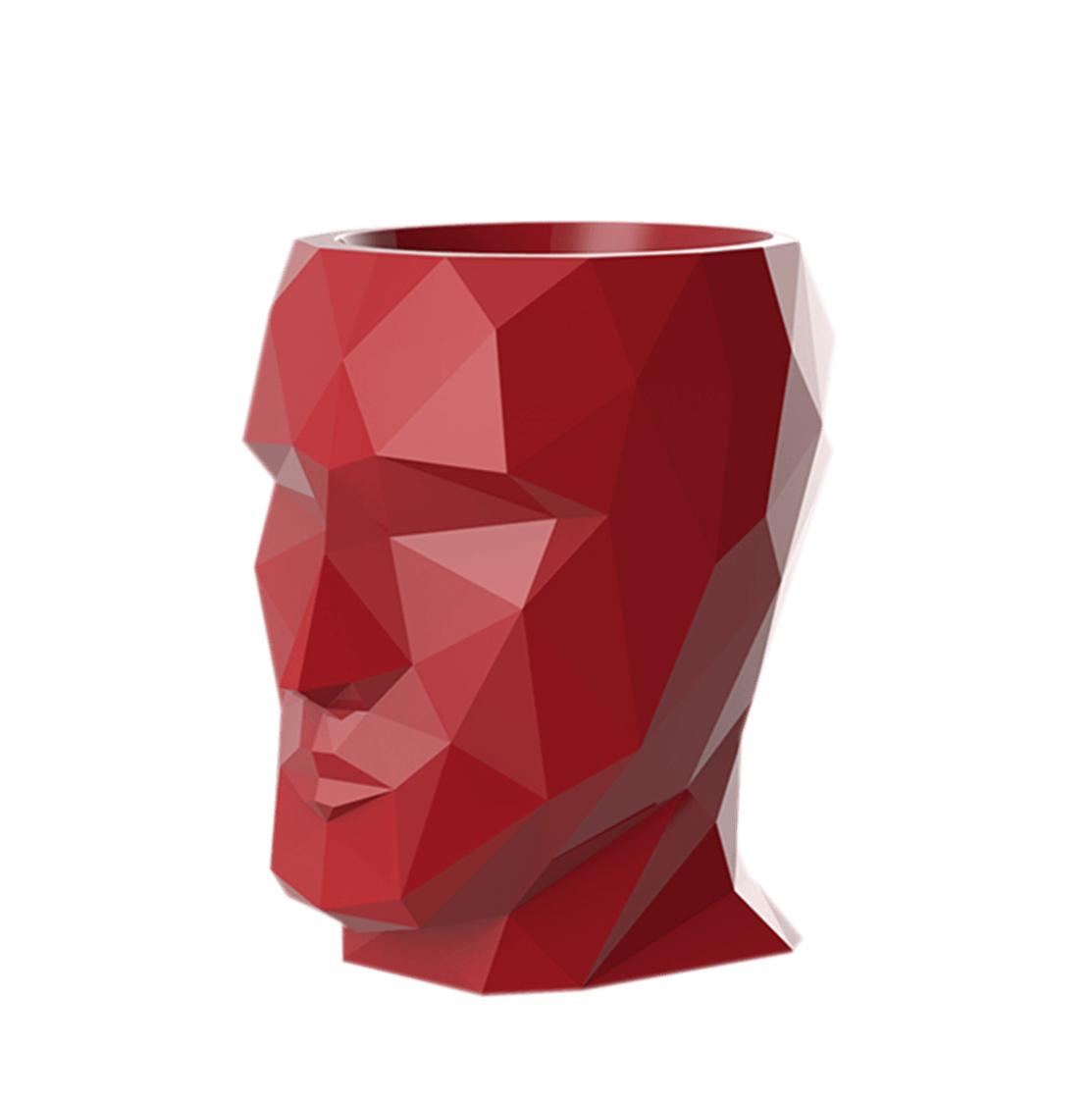 Rode potten Adam - H18 cm
