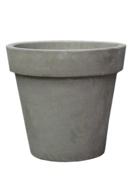 Grey plant pot Varna