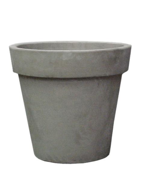 Grey plant pot Varna - H65 cm