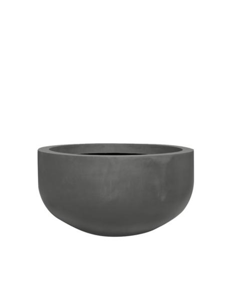 Gray plant pot Manhattan - D128 cm