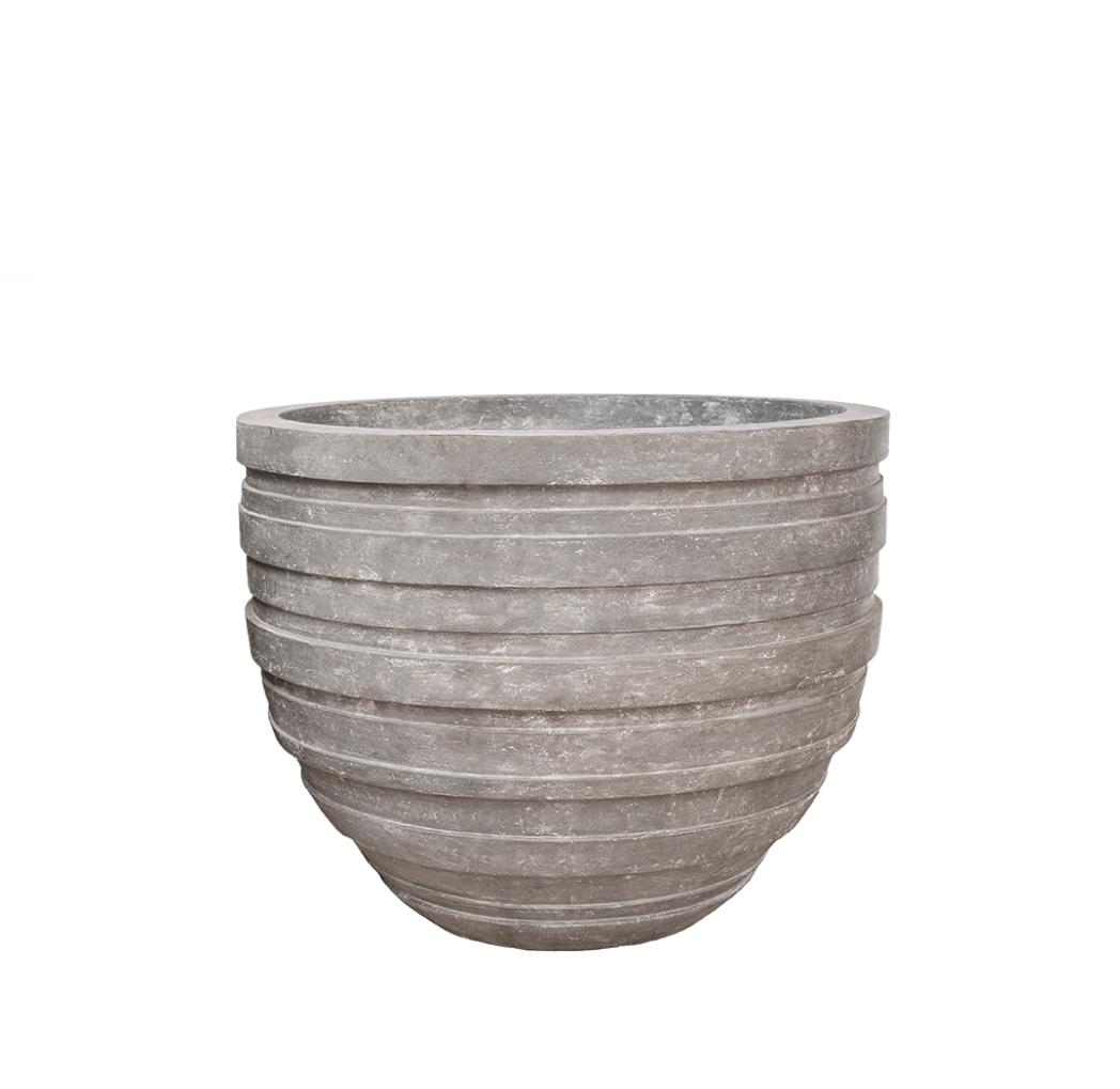 Grey planter Moscow - D110 cm