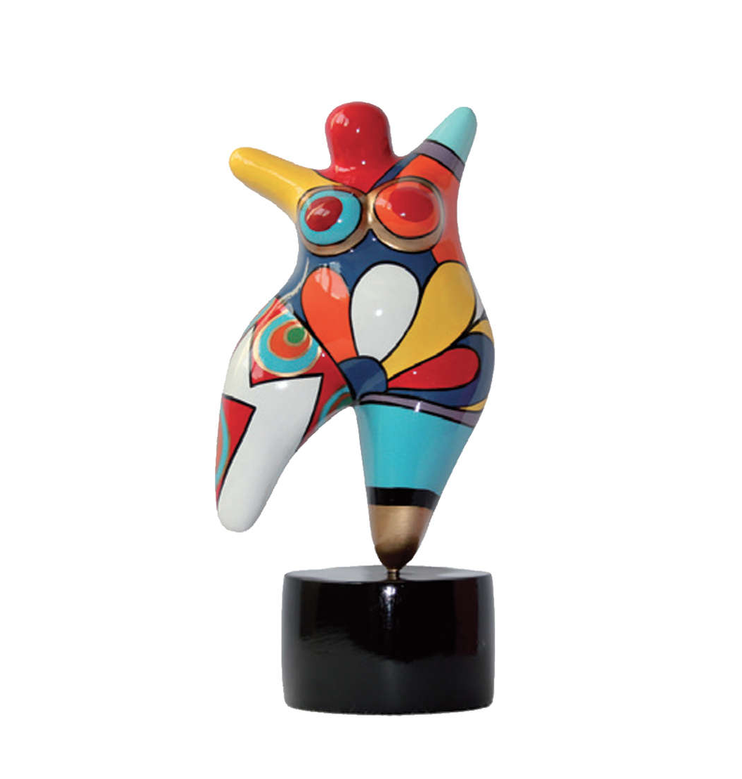 Skulptur Frau Molly XL - H60 cm