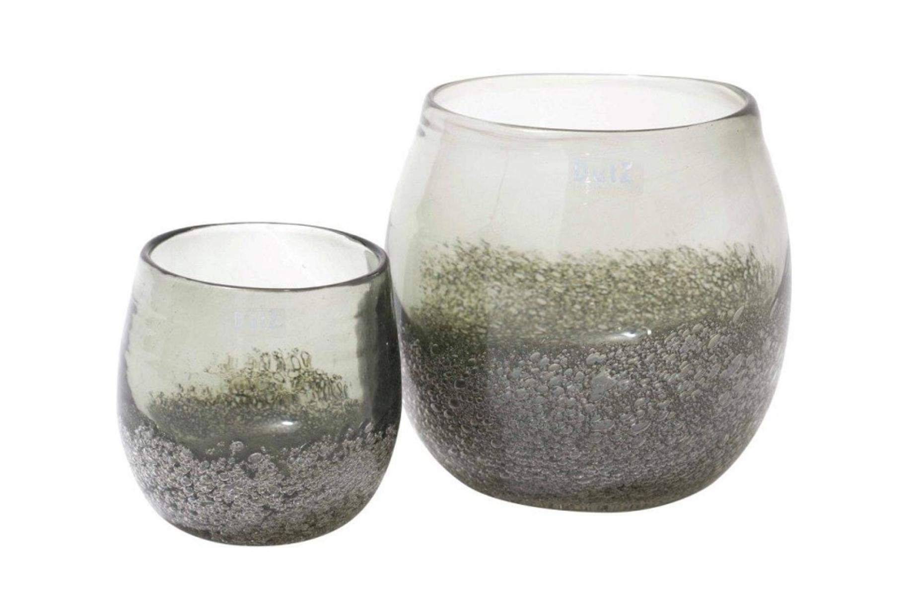 DutZ Pot olive bubbles - H12/ H17 cm