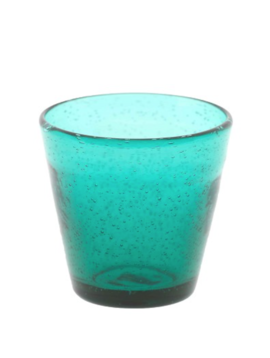 DutZ Turquoise glazen Teal