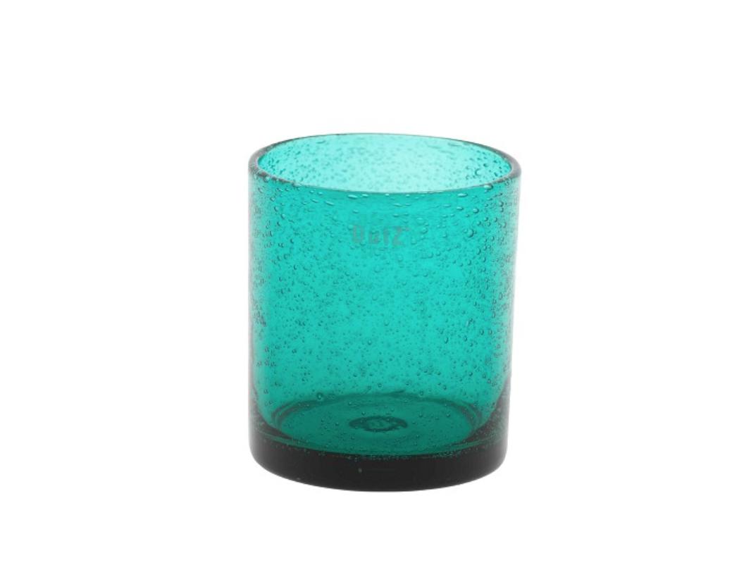 DutZ Teelicht Teal - H10 cm