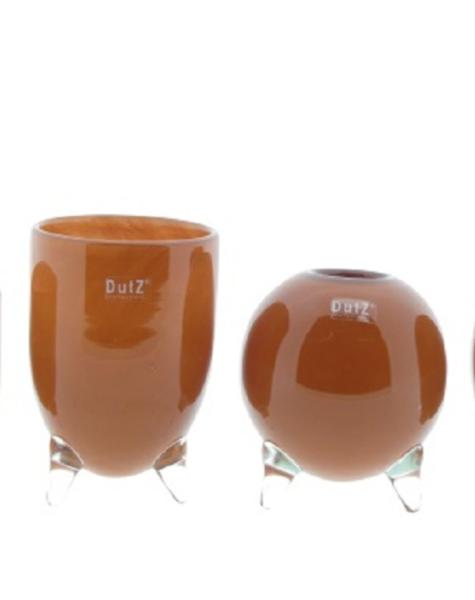 DutZ Orange Vasen Evita - 4 Stück