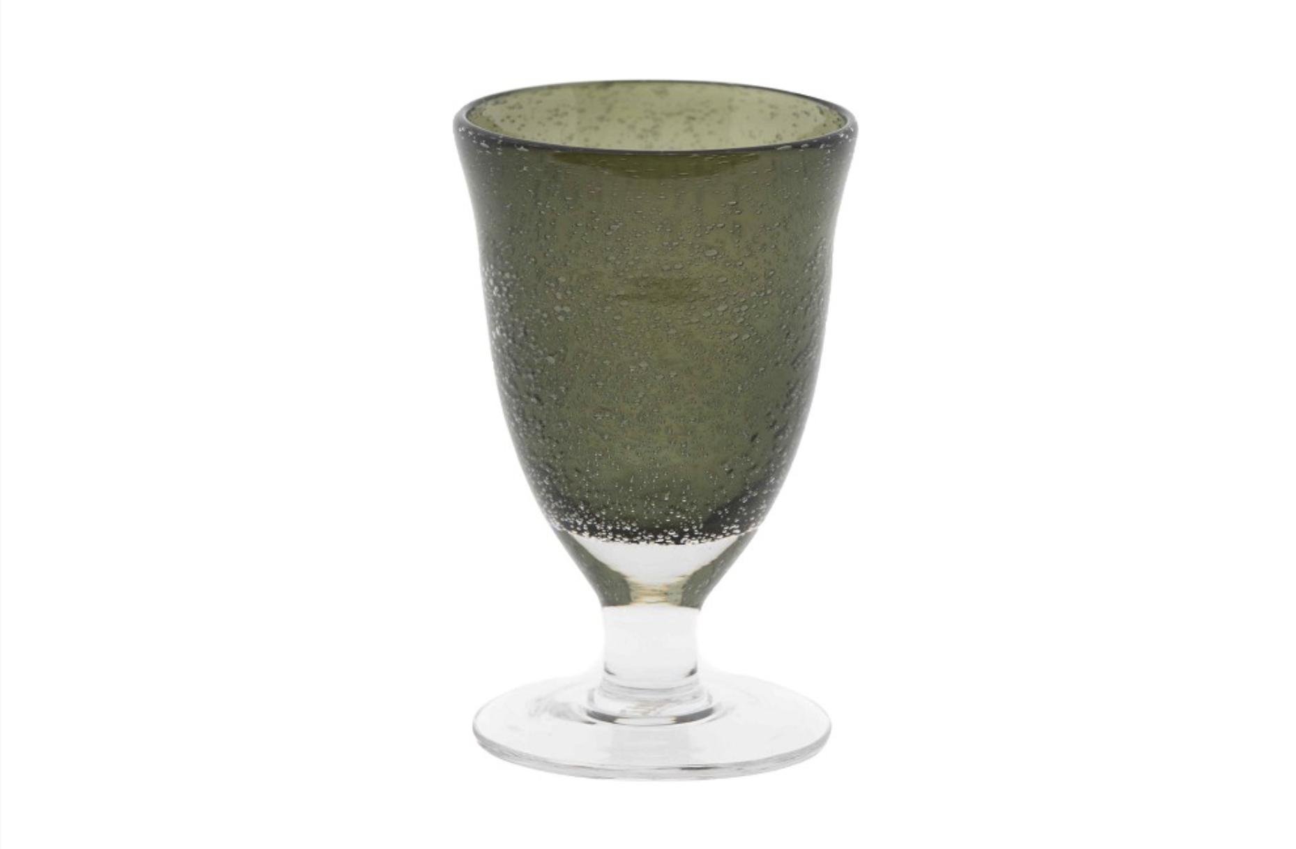 DutZ Glass on foot grey - 4/ 6/ 8 pcs.
