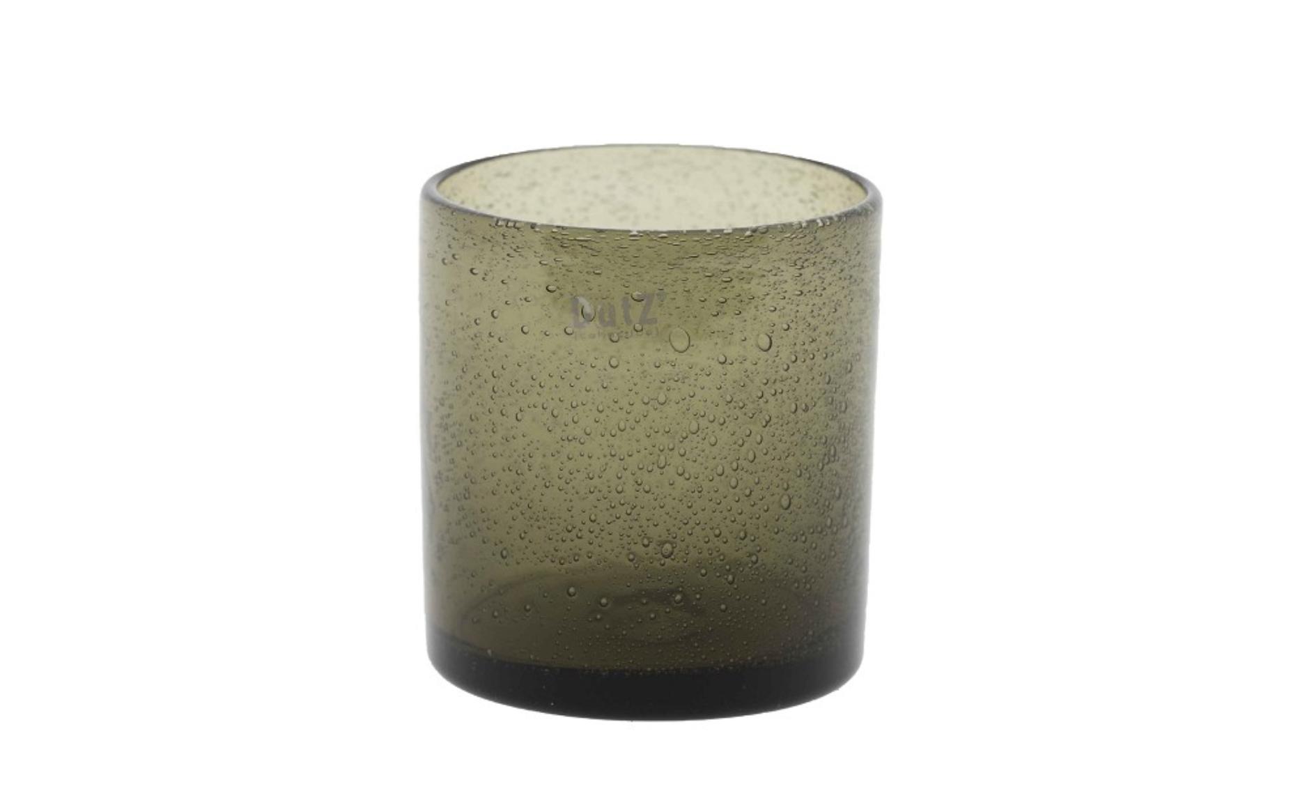 DutZ Votive grey bubbles - H10 cm