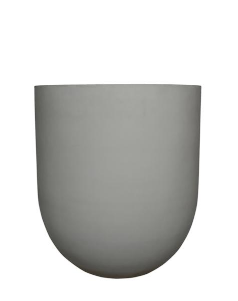 Pflanzgefäß grau Chicago - H125 cm