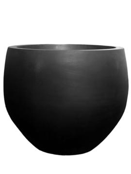 Black plant pot Odessa