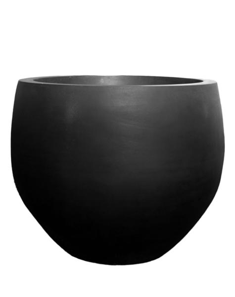 Black plant pot Odessa - H114 cm