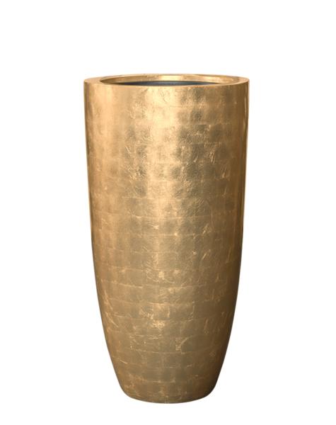 Goldene Vase Jaisalmer - H90 cm