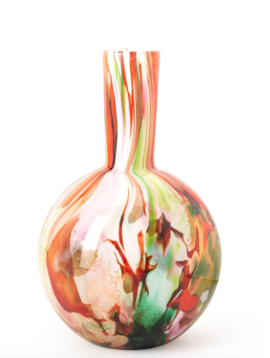 Fidrio Ball vase mixed colors