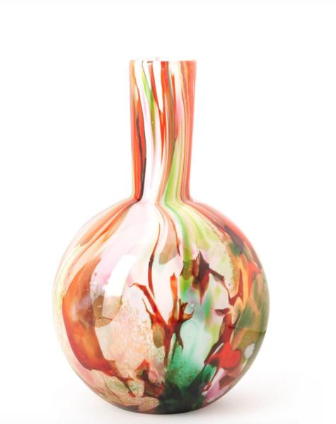 Fidrio Kugelvase mixed colors - H40 cm