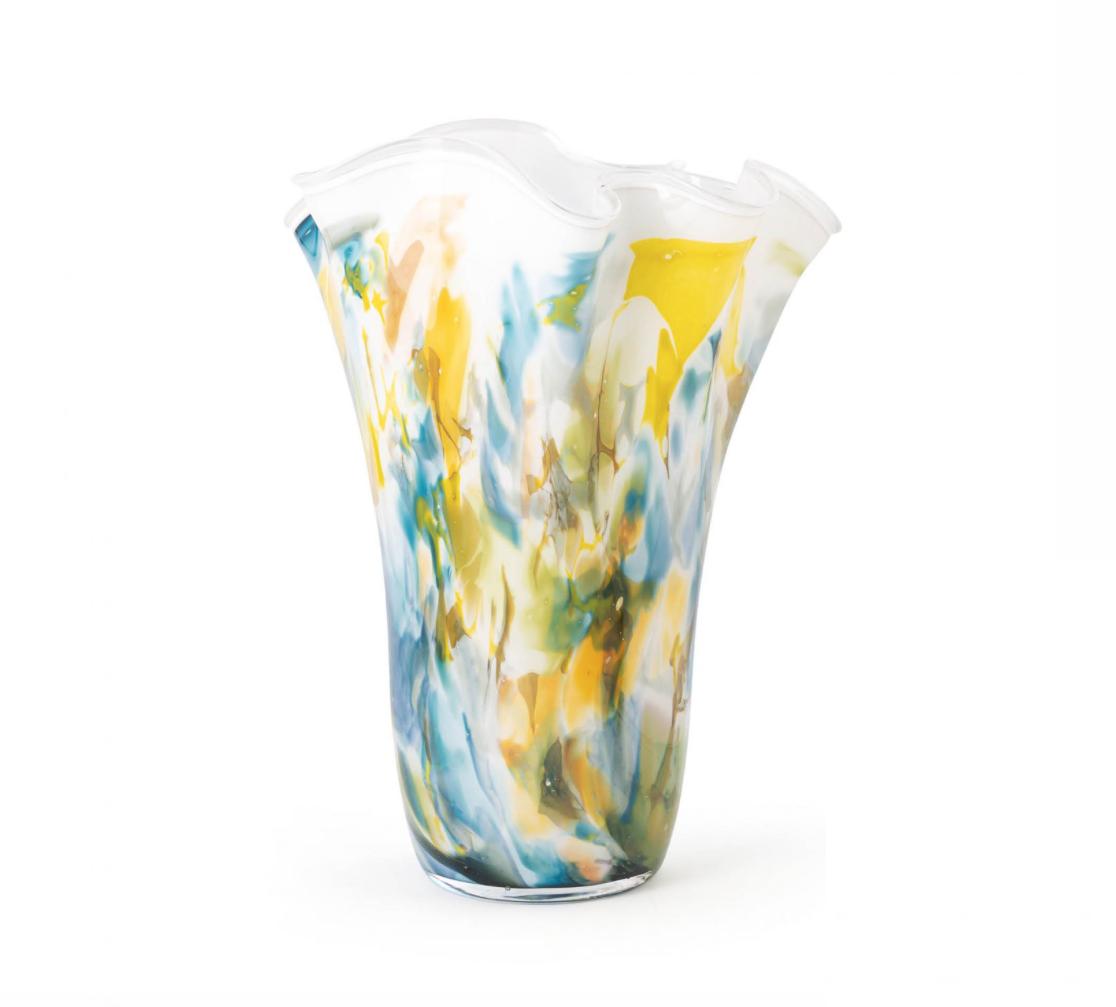 Fidrio Wellenvase Colori - H35 cm