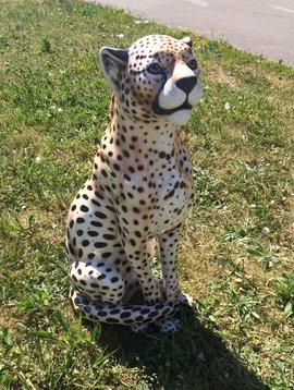 Cheetah figurine
