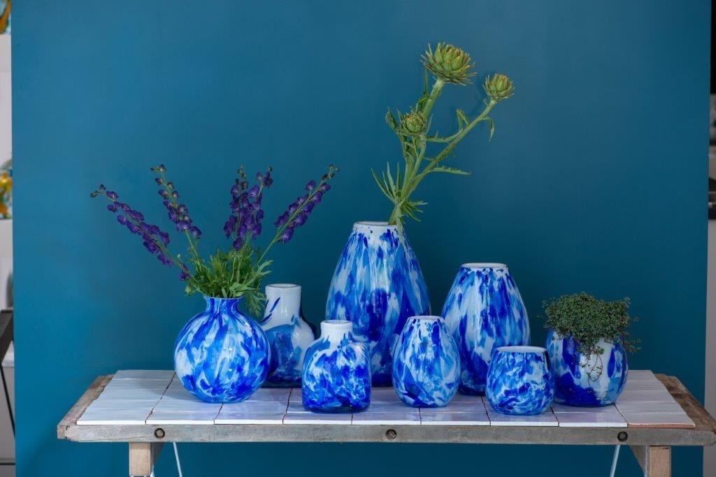 Fidrio Schale Delft Blau - D45 cm