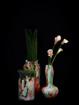 Fidrio Vase Alvino Mixed Colors