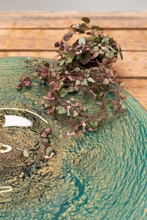 Fidrio Glazen schaal Fiji - D45 cm