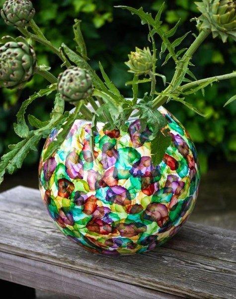 Fidrio Bolvase Flowers - D25 cm
