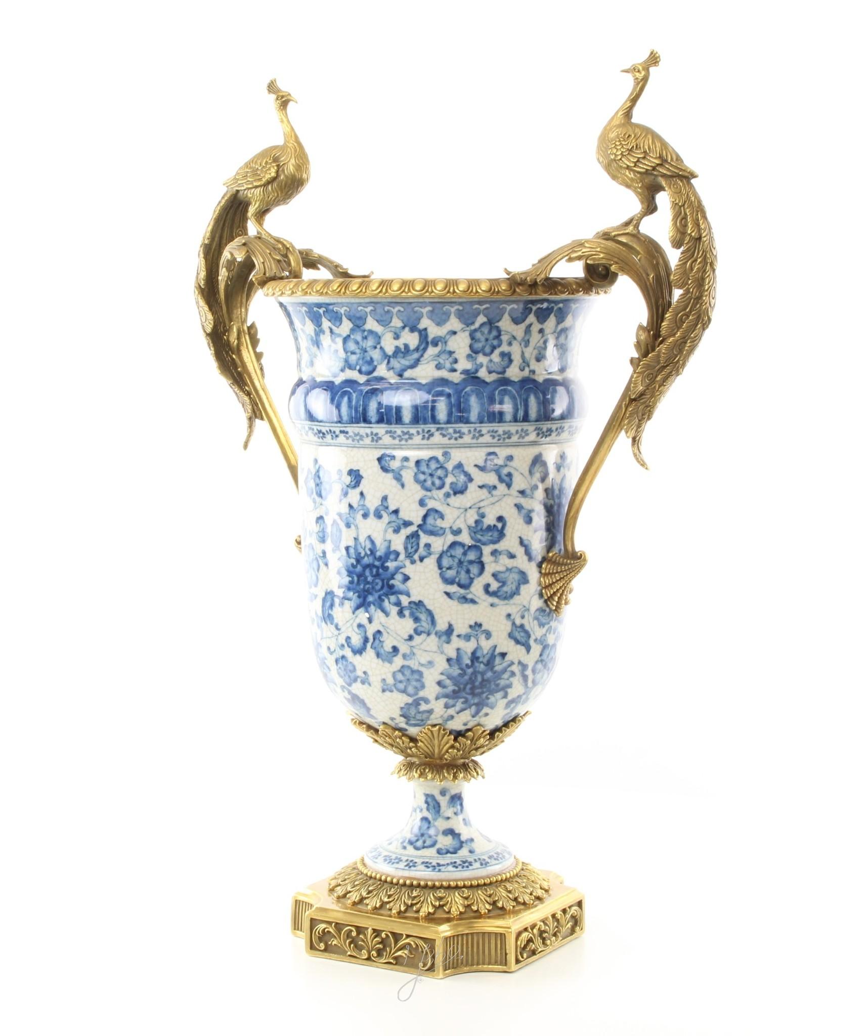 Antike Vasen Kings Blue - H60 cm