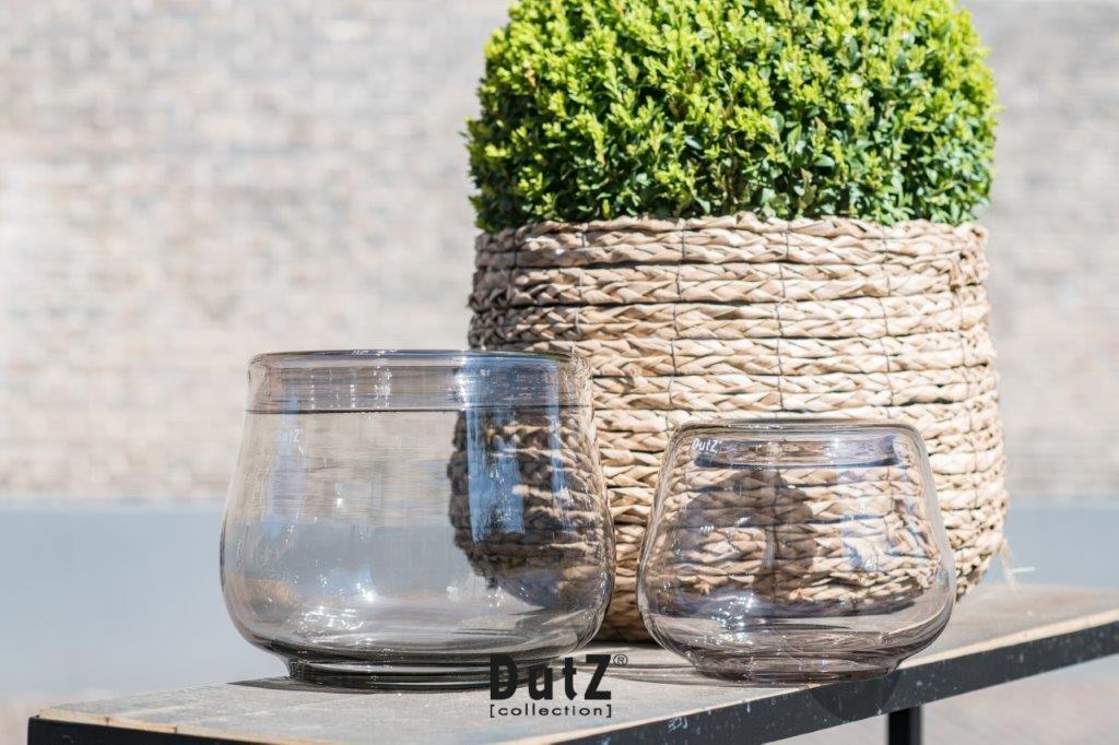DutZ Vase Dobro smoke - H20/ H25 cm