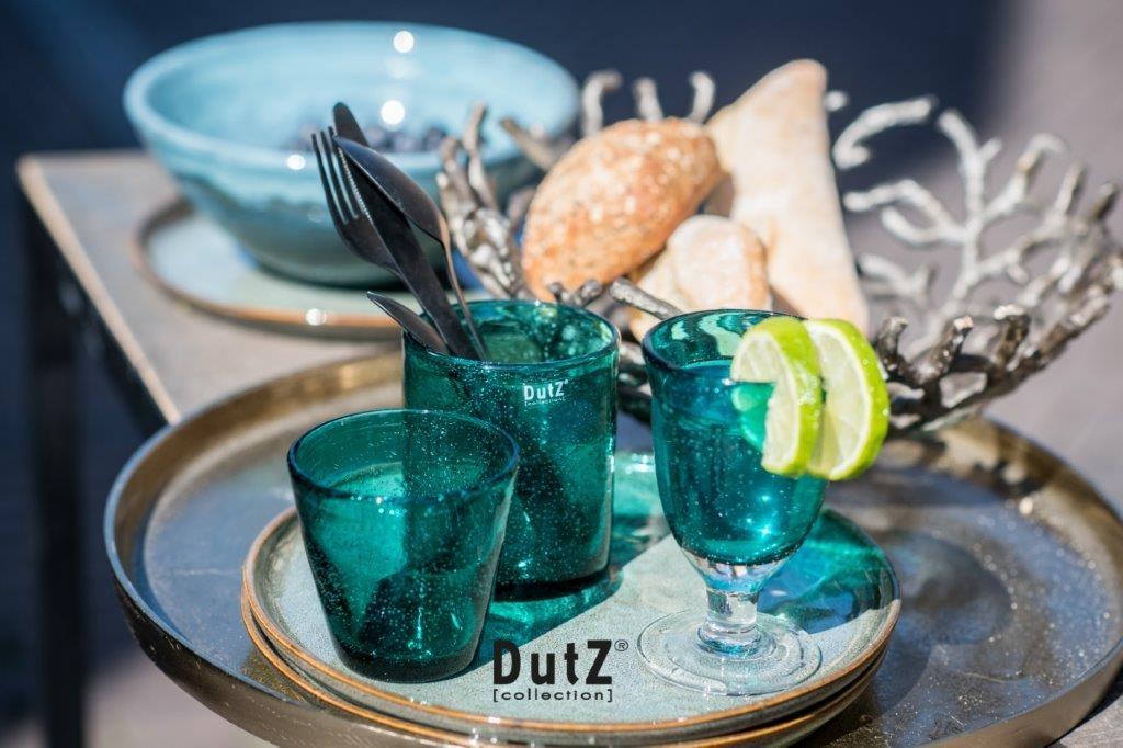 DutZ Votive Teal - H10 cm