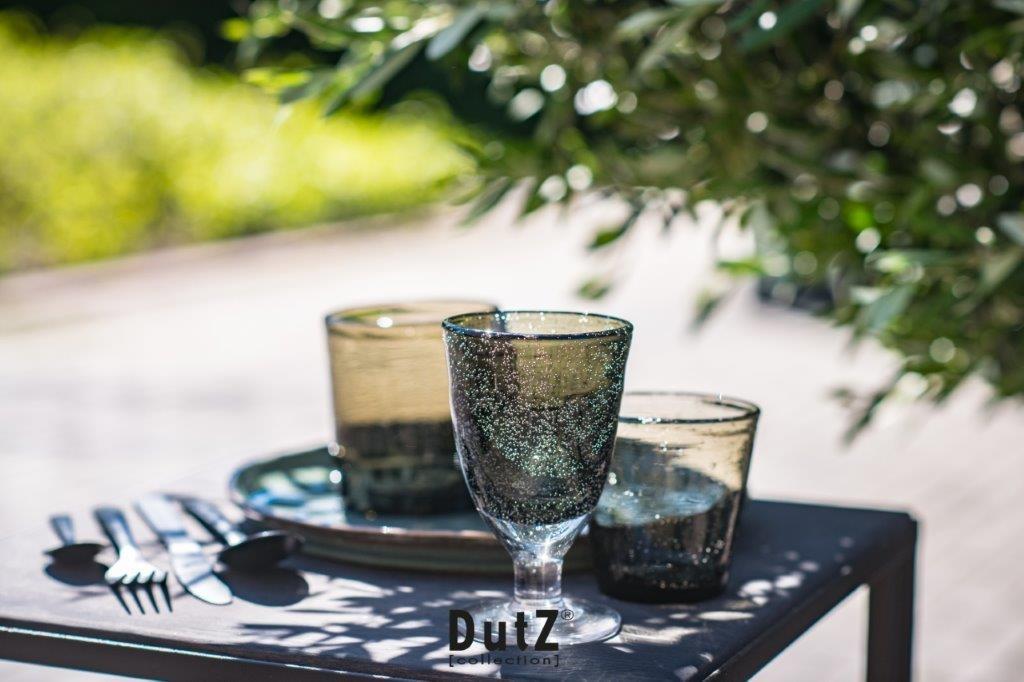 DutZ Trinkglas grau - 4/ 6/ 8 Stück