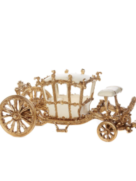Goodwill Miniatur kutsche gold