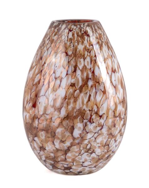 Fidrio Gouden vaas Organic - H40 cm