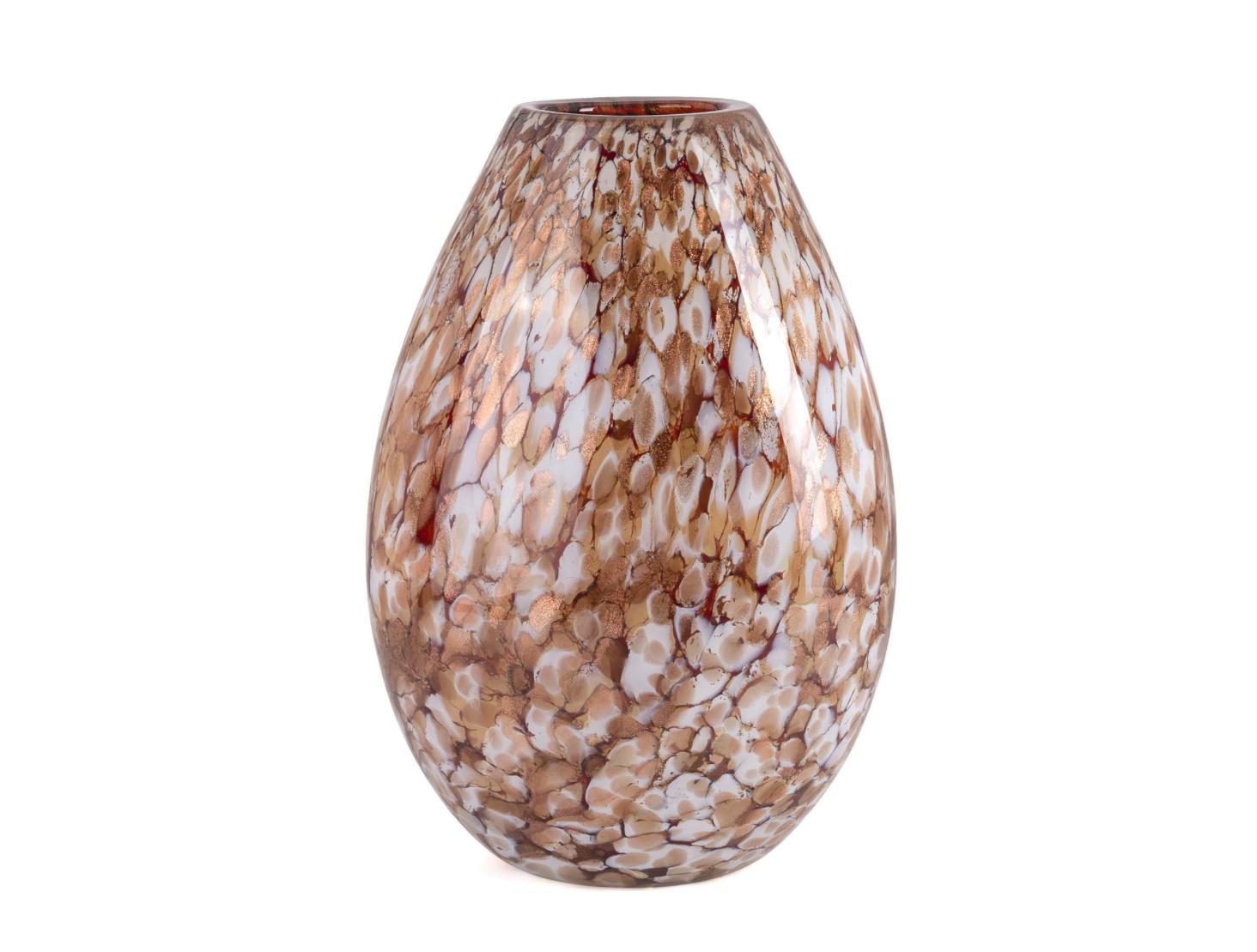 Fidrio Goldene Vase Organic - H40 cm