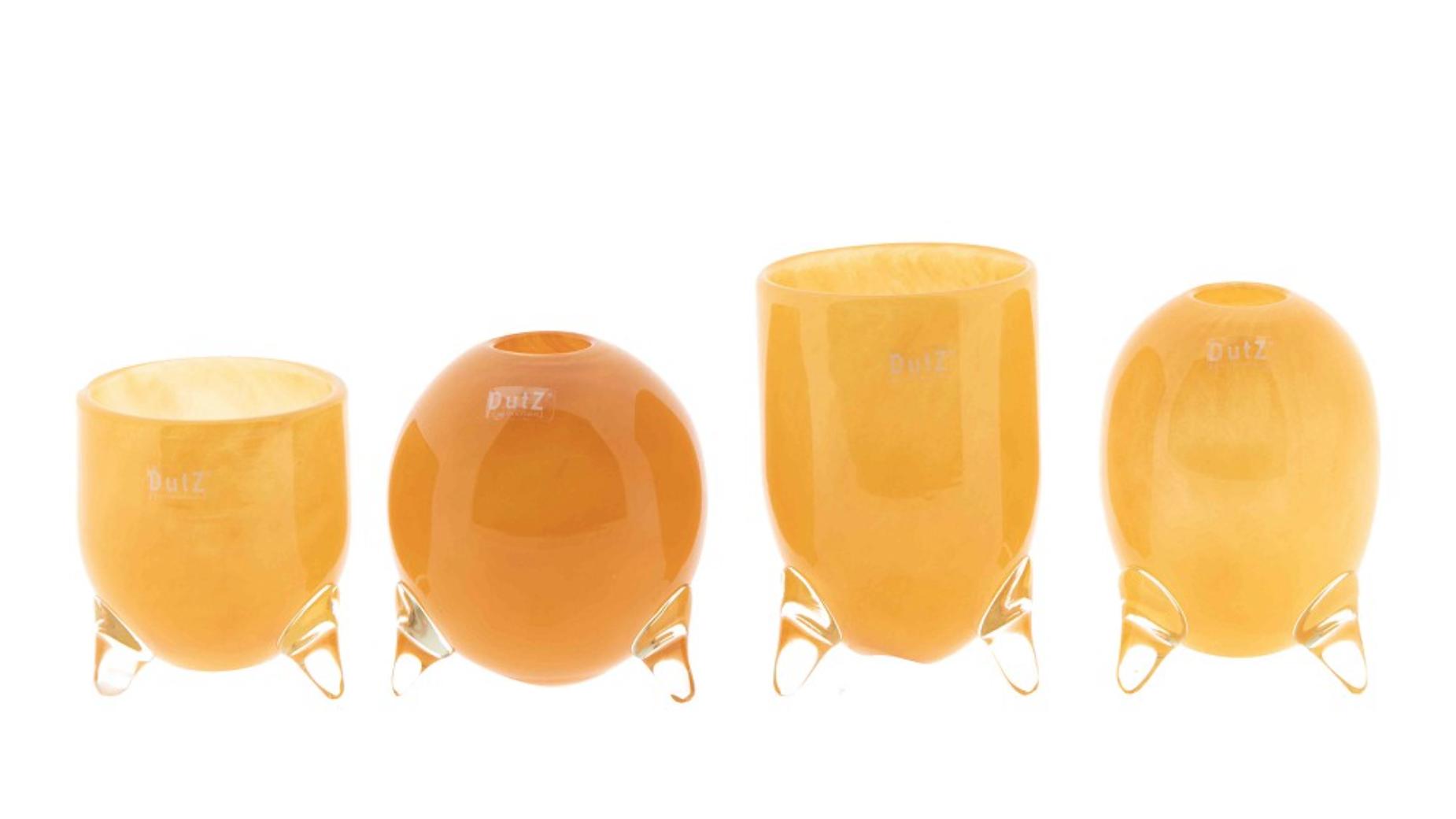 DutZ Vasenset ochre yellow - 4 Stück