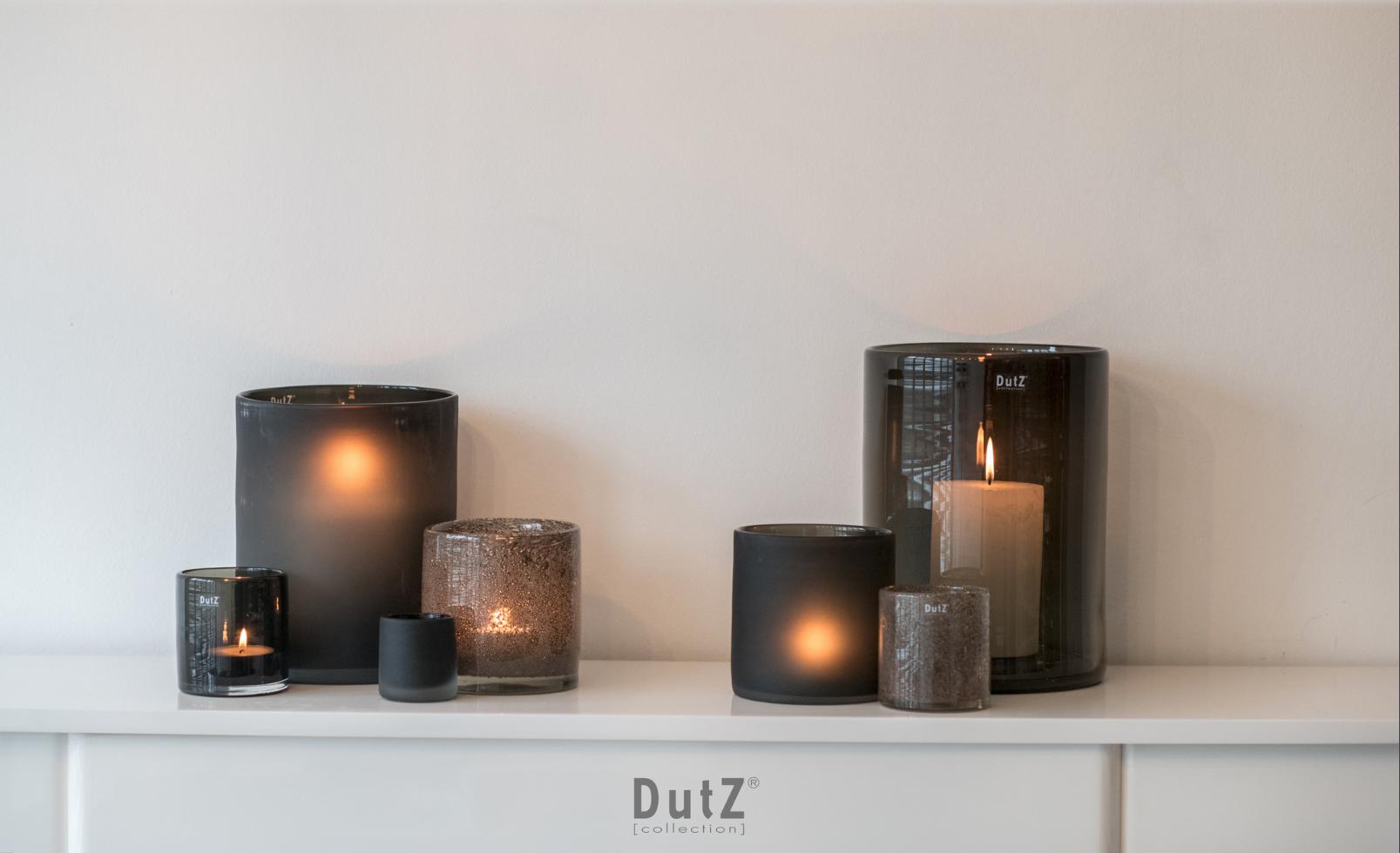 DutZ Windlichter smoke - 7 Stück
