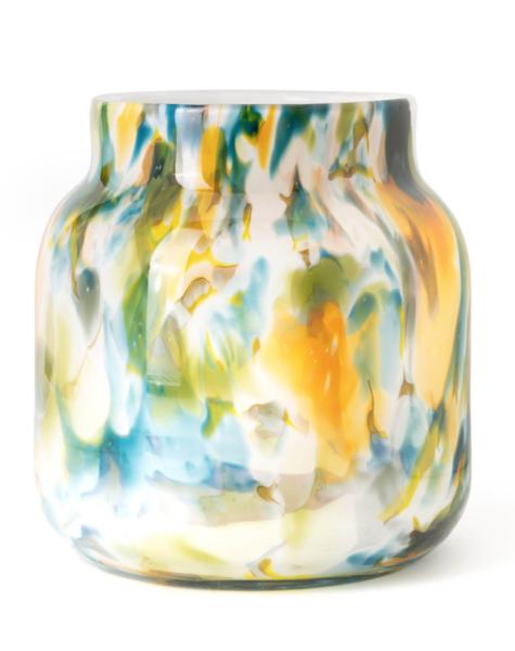 Fidrio Vase bloom colori - H20 cm