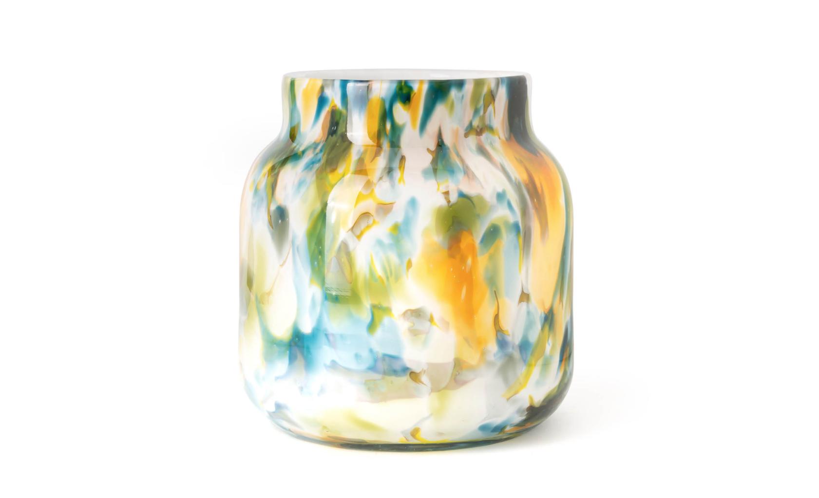 Fidrio Farbige Vase Bloom Colori - H20 cm
