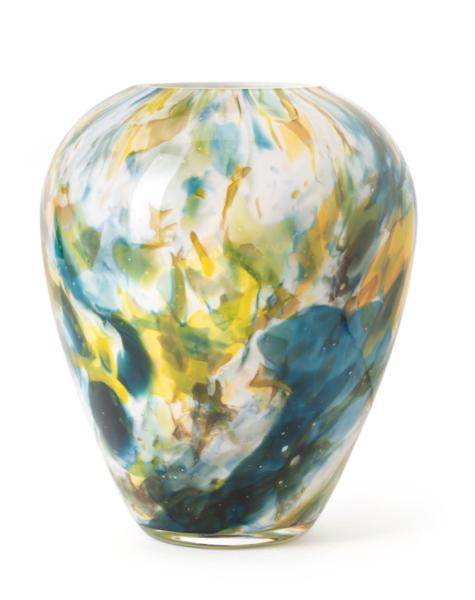 Fidrio Vase alore colori - H22 cm